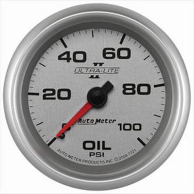 Auto Meter Ultra-Lite II Mechanical Oil Pressure Gauge - 7721