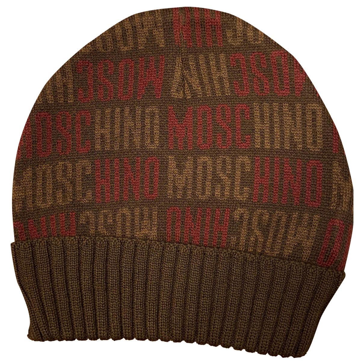 Moschino \N Hut, Muetzen in  Braun Wolle