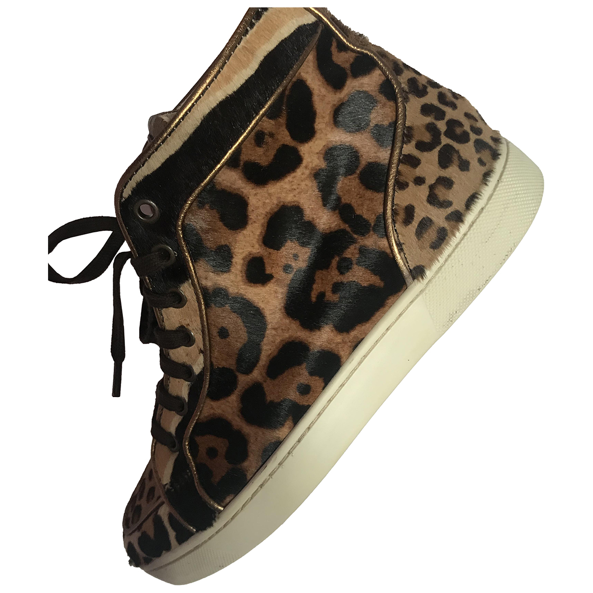 Christian Louboutin Louis Camel Leather Trainers for Men 39 EU