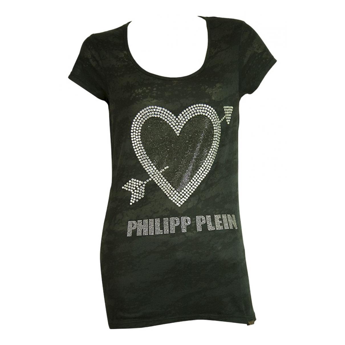 Philipp Plein N Black Cotton  top for Women S International