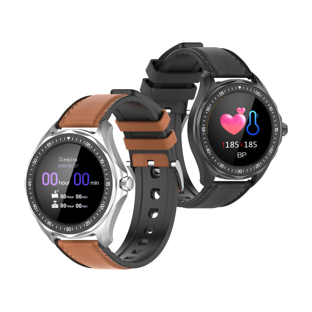 Full-touch Screen Heart Rate Blood Pressure Monitor GPS Runing Route Track Activity Monitor BTV5.0 Smart Watch