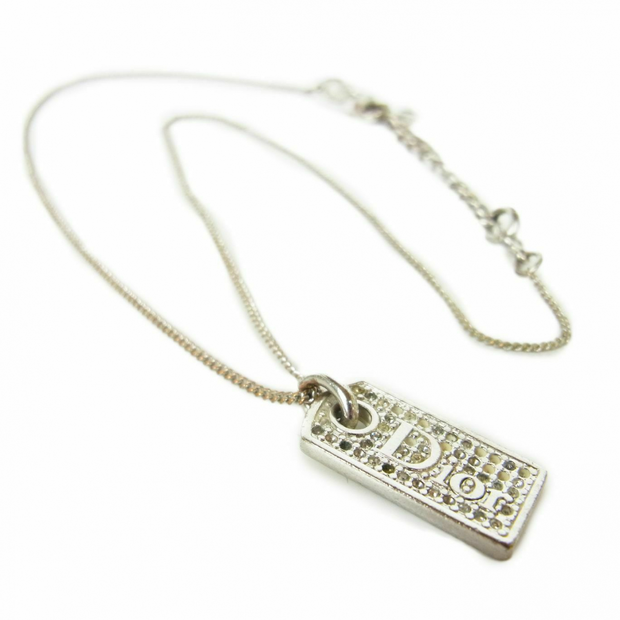 Christian Dior \N Silver Steel necklace for Women \N