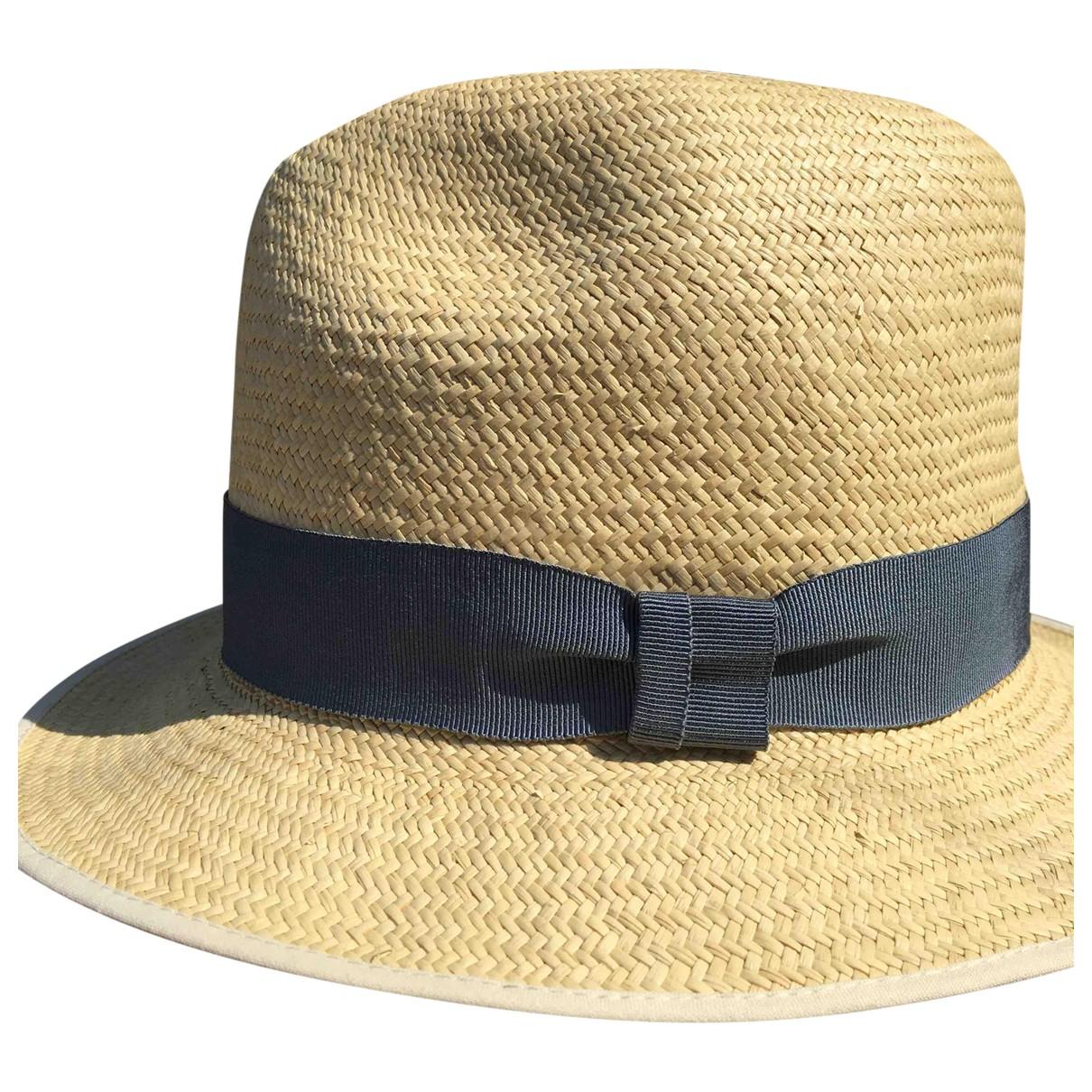 - Chapeau & Bonnets   pour homme en paille - beige