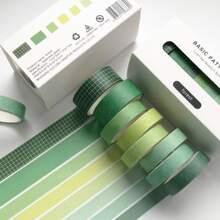 8rolls Solid Decorative Tape