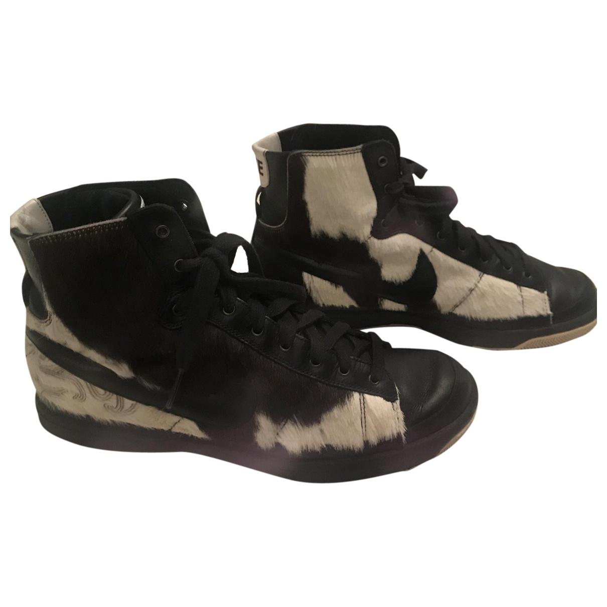 Deportivas Blazer de Piel de potro de imitacion Nike