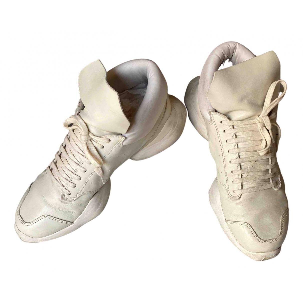 Deportivas de Cuero Adidas & Rick Owens
