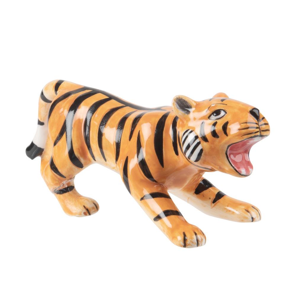 Tiger aus Dolomit H6