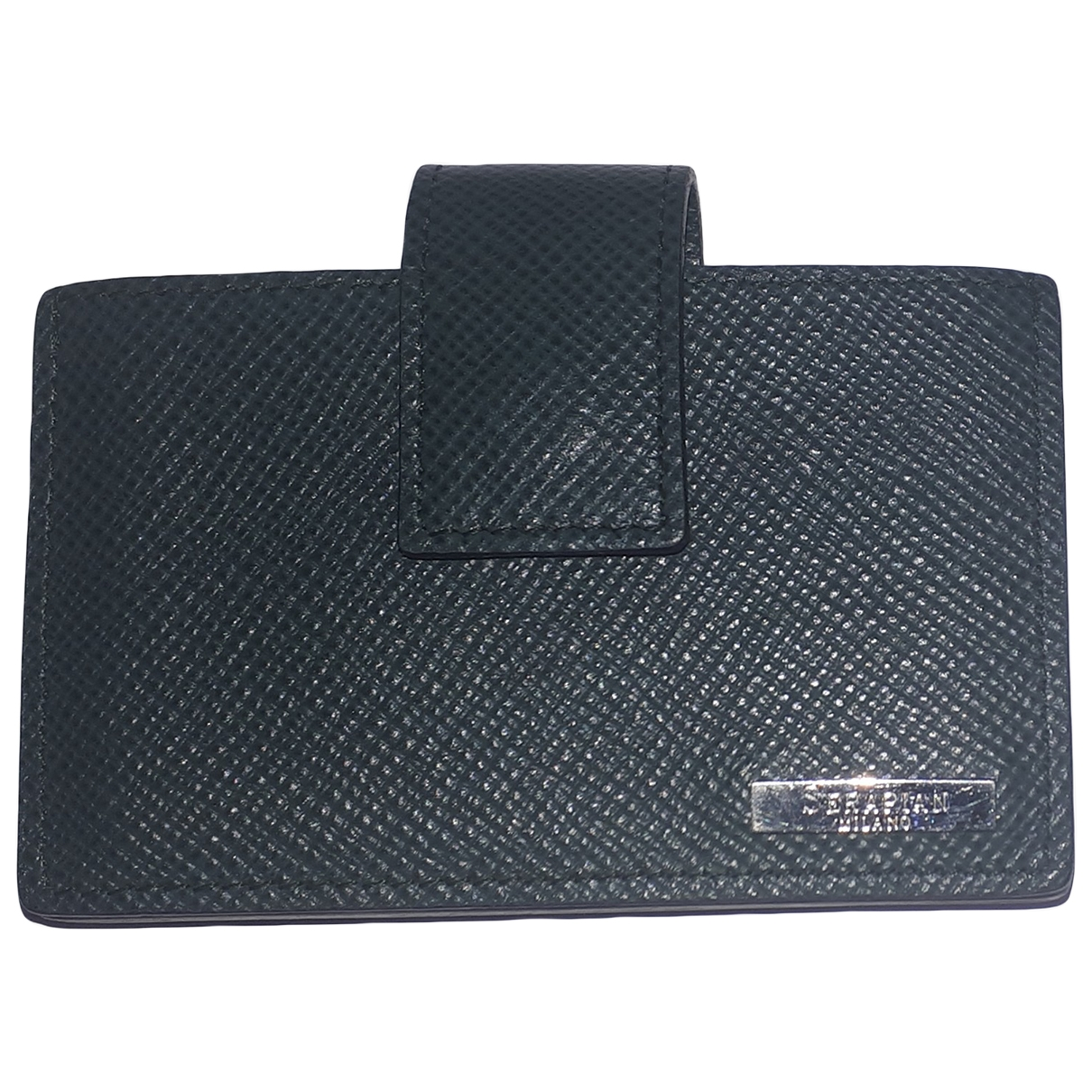 Non Signé / Unsigned \N Green Leather wallet for Women \N