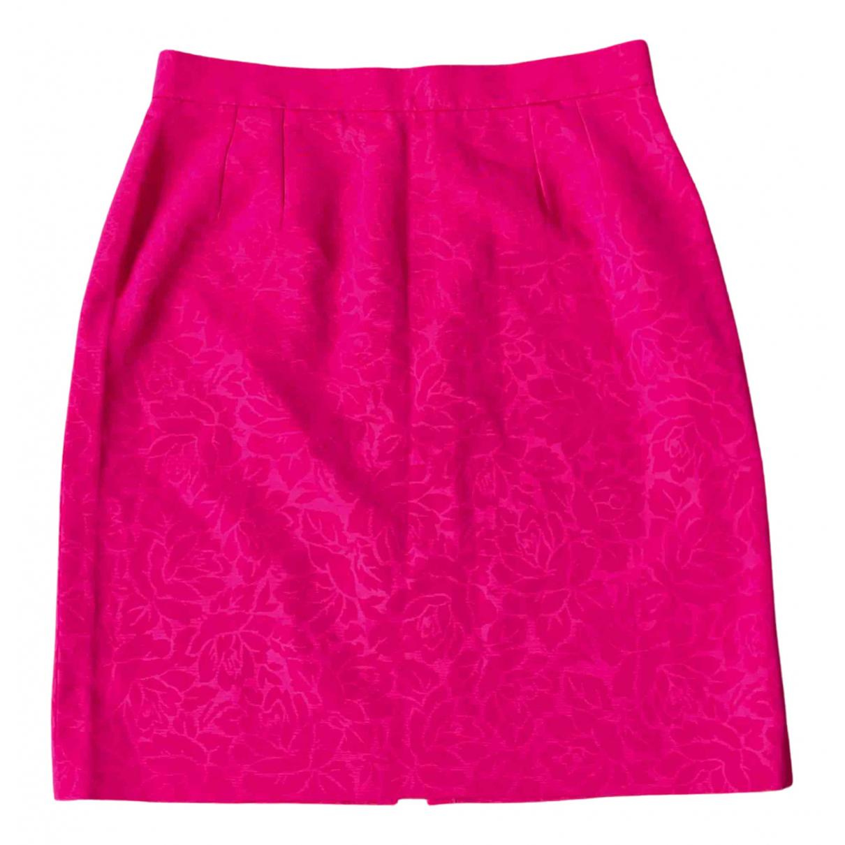 Yves Saint Laurent - Jupe   pour femme en coton - rose