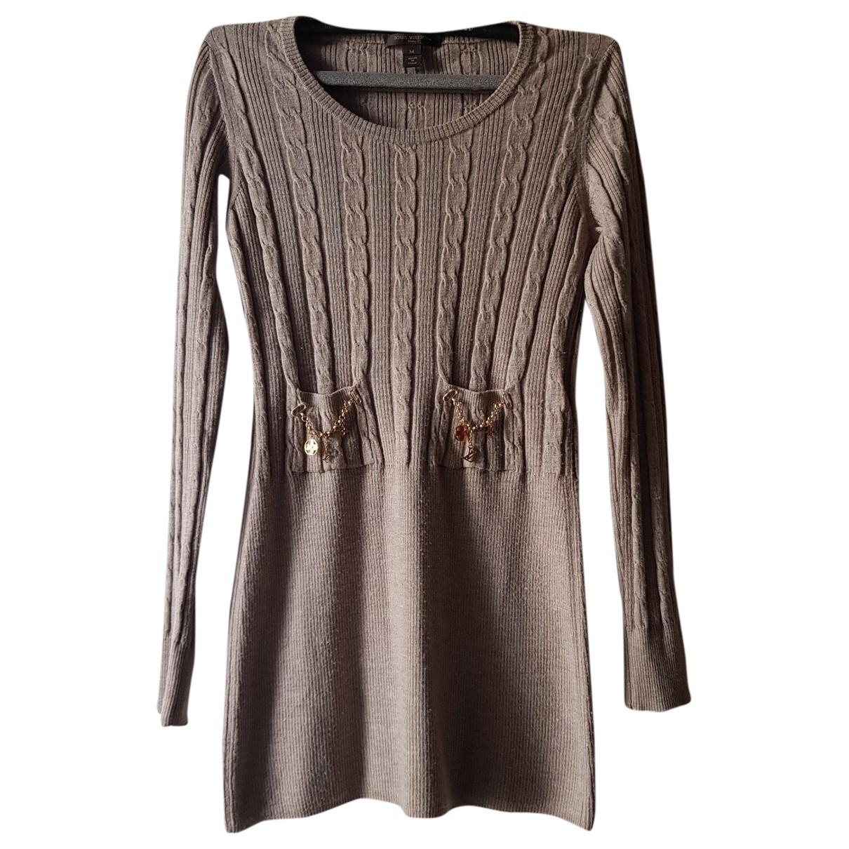 Louis Vuitton \N Beige Wool Knitwear for Women M International