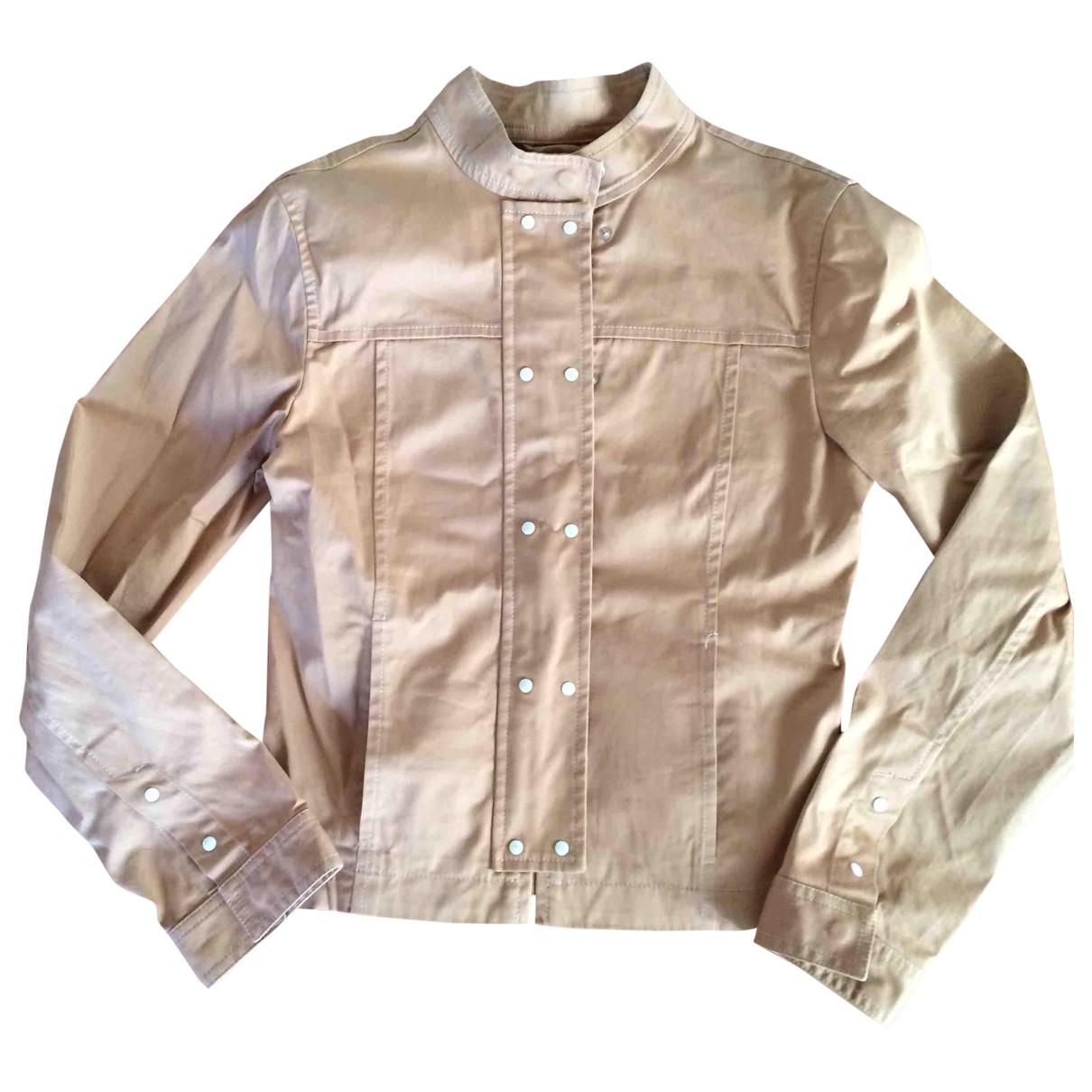 Fay - Veste   pour femme en coton - beige