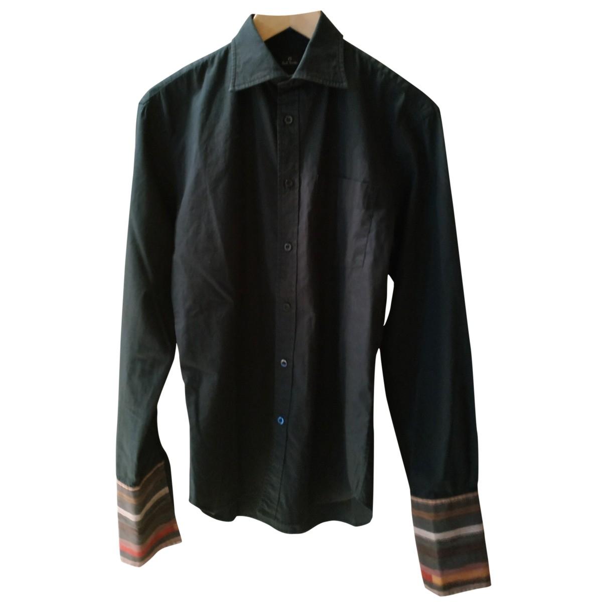 Paul Smith \N Hemden in  Schwarz Baumwolle