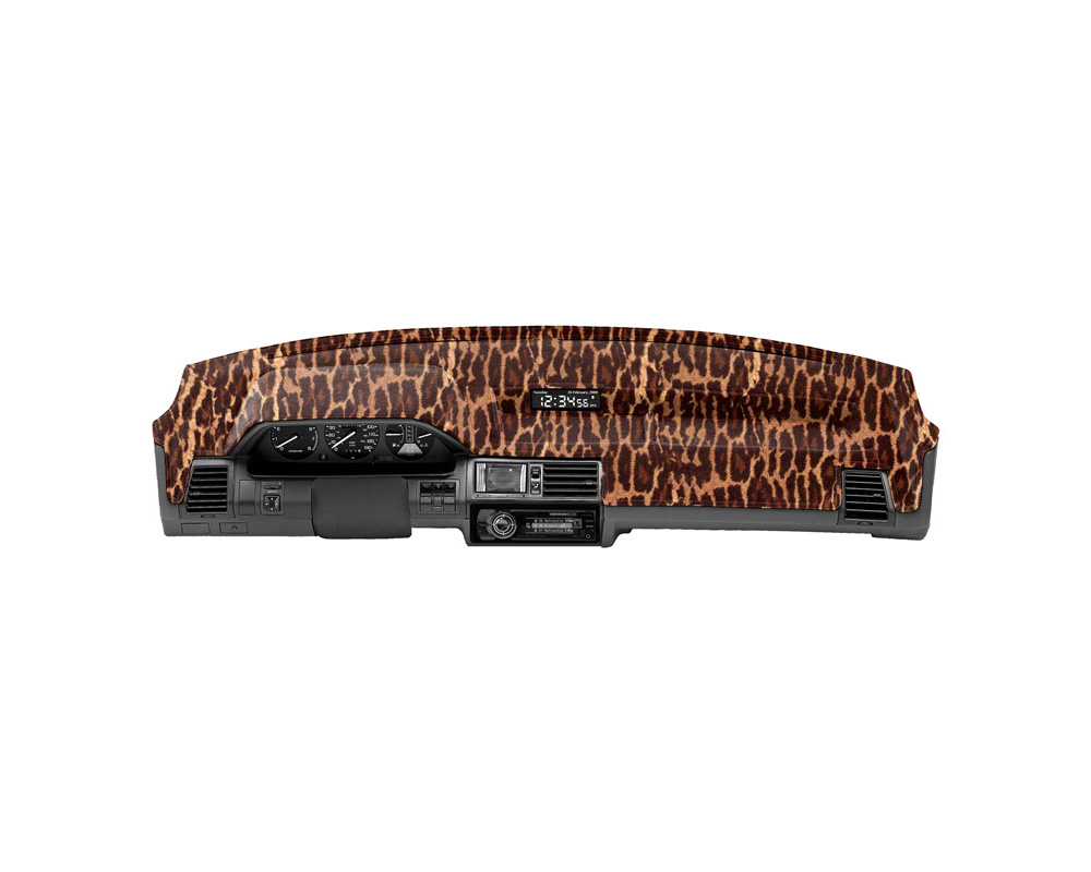 Cover King Custom Tailored Velour Dashboard Cover Leopard Chevrolet Avalanche 2007-2013