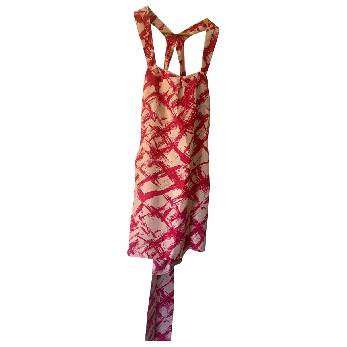 Whistles \N Kleid in  Rosa Seide