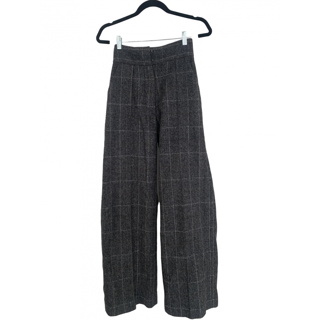 Rachel Comey \N Grey Wool Trousers for Women 2 US