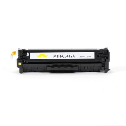Compatible HP 305A CE412A cartouche de toner jaune - Moustache@