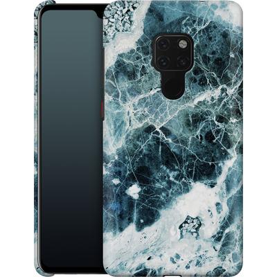 Huawei Mate 20 Smartphone Huelle - Blue Sea Marble von Emanuela Carratoni