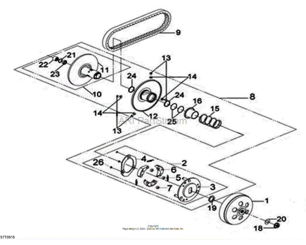 Can-AM OEM Needle Bearing