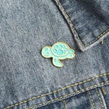 Turtle Design Brooch