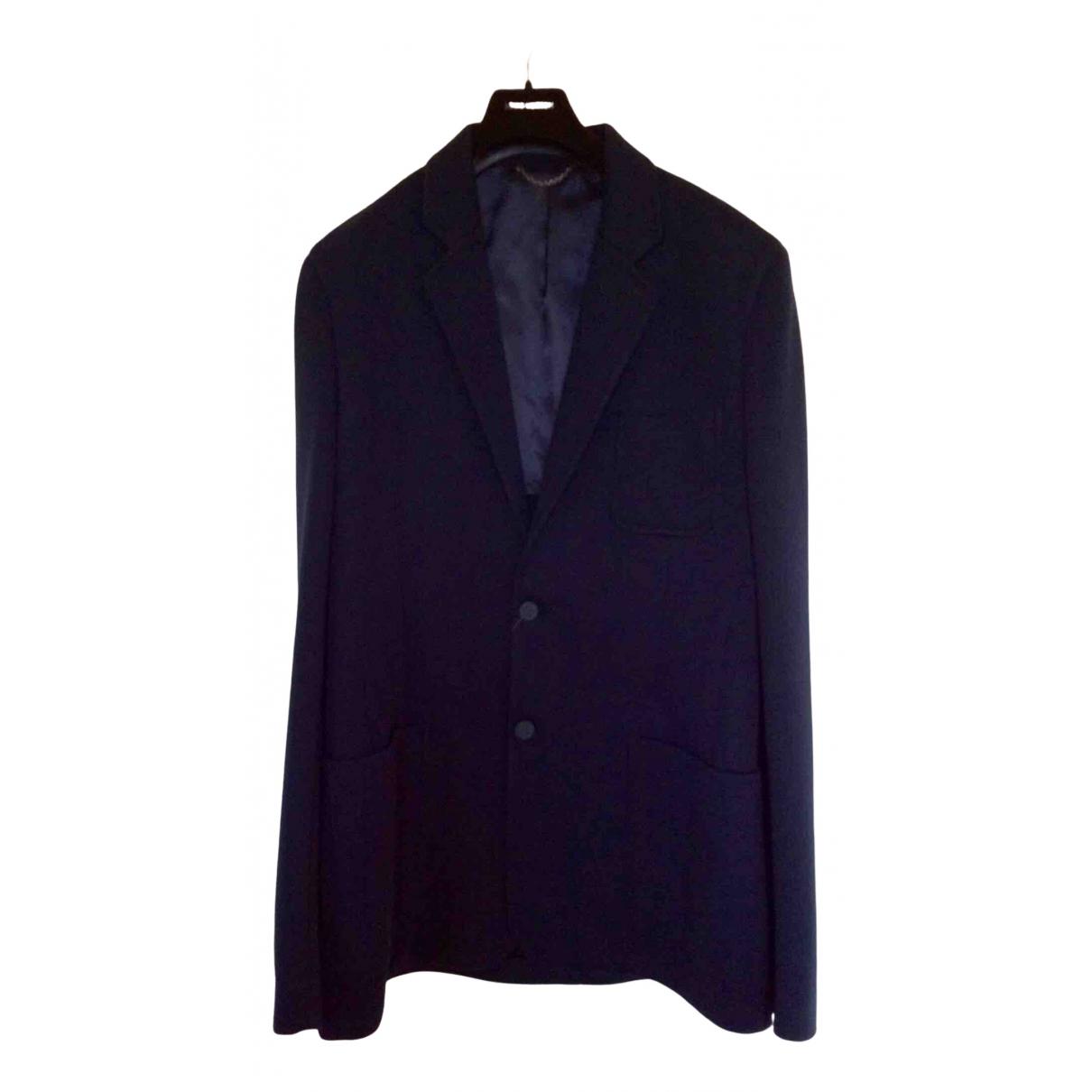 Louis Vuitton \N Navy Cotton jacket  for Men 52 FR