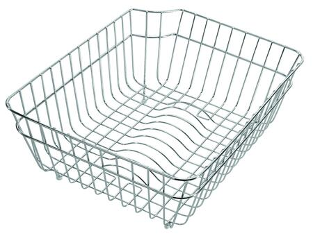 AB70SSB Kitchen Dish Rack Basket with Stainless Steel and Classic Style in