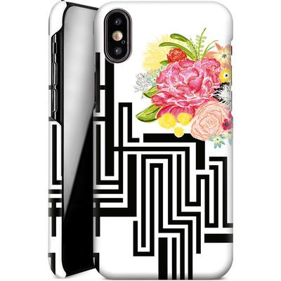 Apple iPhone X Smartphone Huelle - Michi Garden von Khristian Howell