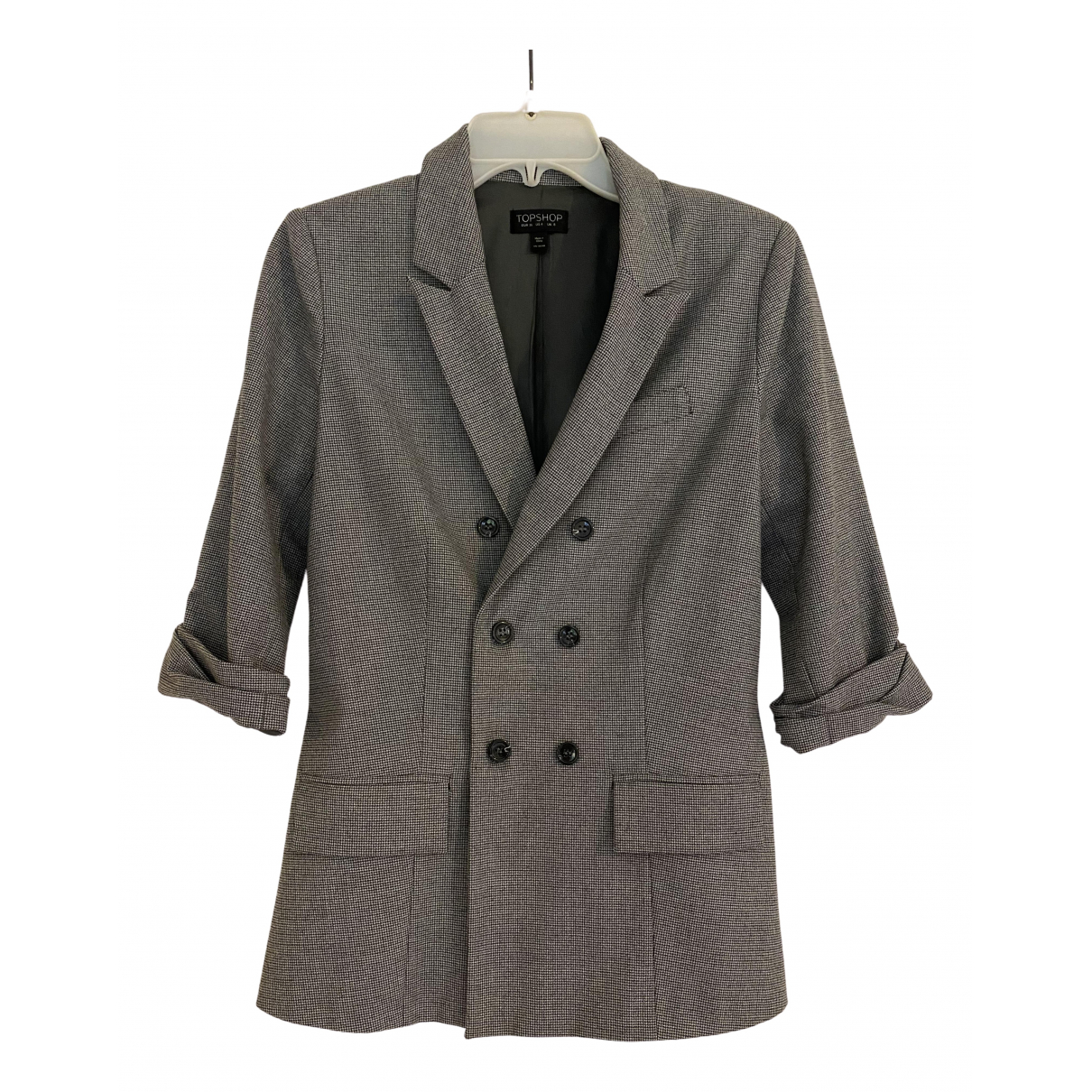 tophop \N Grey Cotton jacket for Women 8 UK
