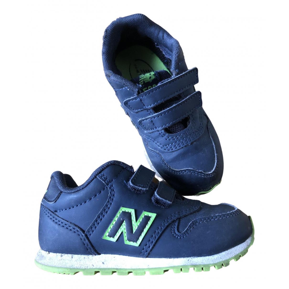 New Balance \N Sneakers in  Blau Leder