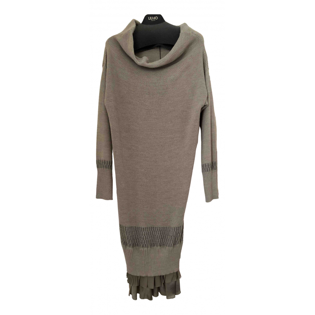 Pinko \N Wool dress for Women M International