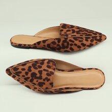 Leopard Random Outsole & Trim Mules