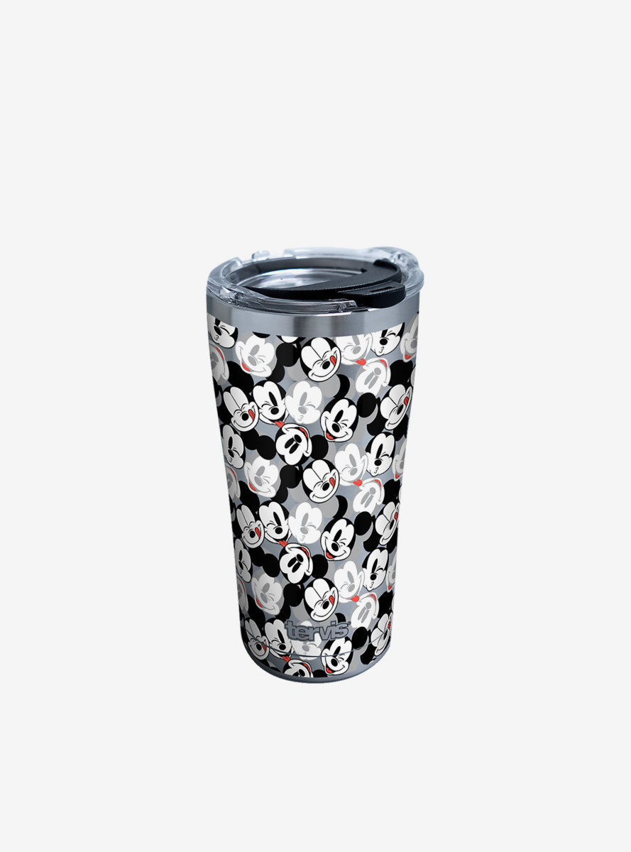Disney Mickey Mouse Expressions 20oz Stainless Steel Tumbler With Lid