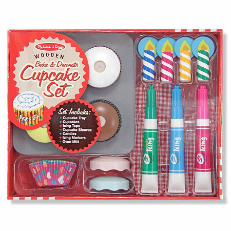 Melissa & Doug Bake & Decorate Cupcake Set, One Size , Multiple Colors