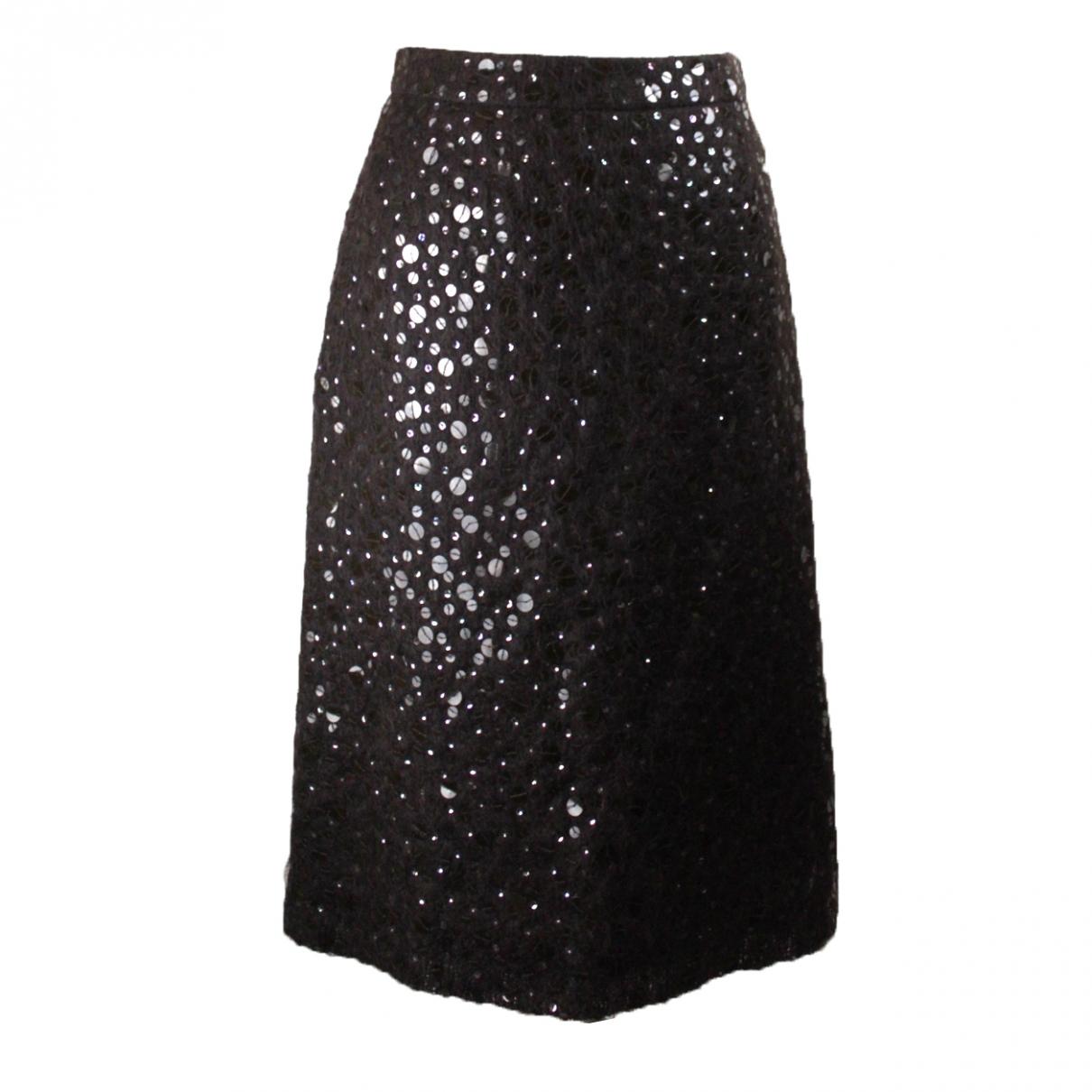 Andrew Gn \N Brown Wool skirt for Women M International