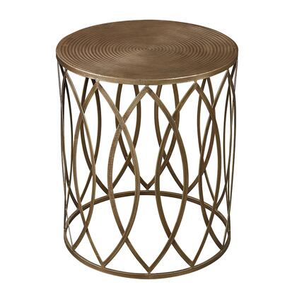 138-009 Sutton Accent Table  In Gold