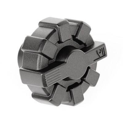 Rugged Ridge Elite Fuel Cap (Black Aluminum) - 11229.10