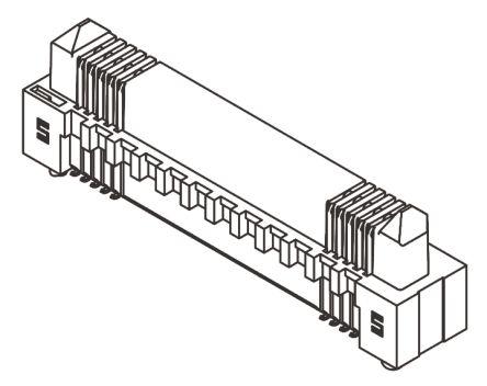 Samtec , Edge Rate ERM8, 80 Way, 2 Row, Straight PCB Header
