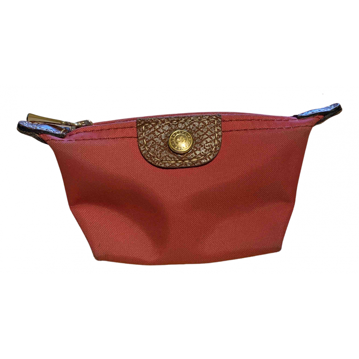 Longchamp N Pink Cloth wallet for Women N