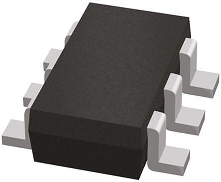ROHM Dual P-Channel MOSFET, 4.5 A, 12 V, 6-Pin SOT-457T  RAQ045P01TCR (50)