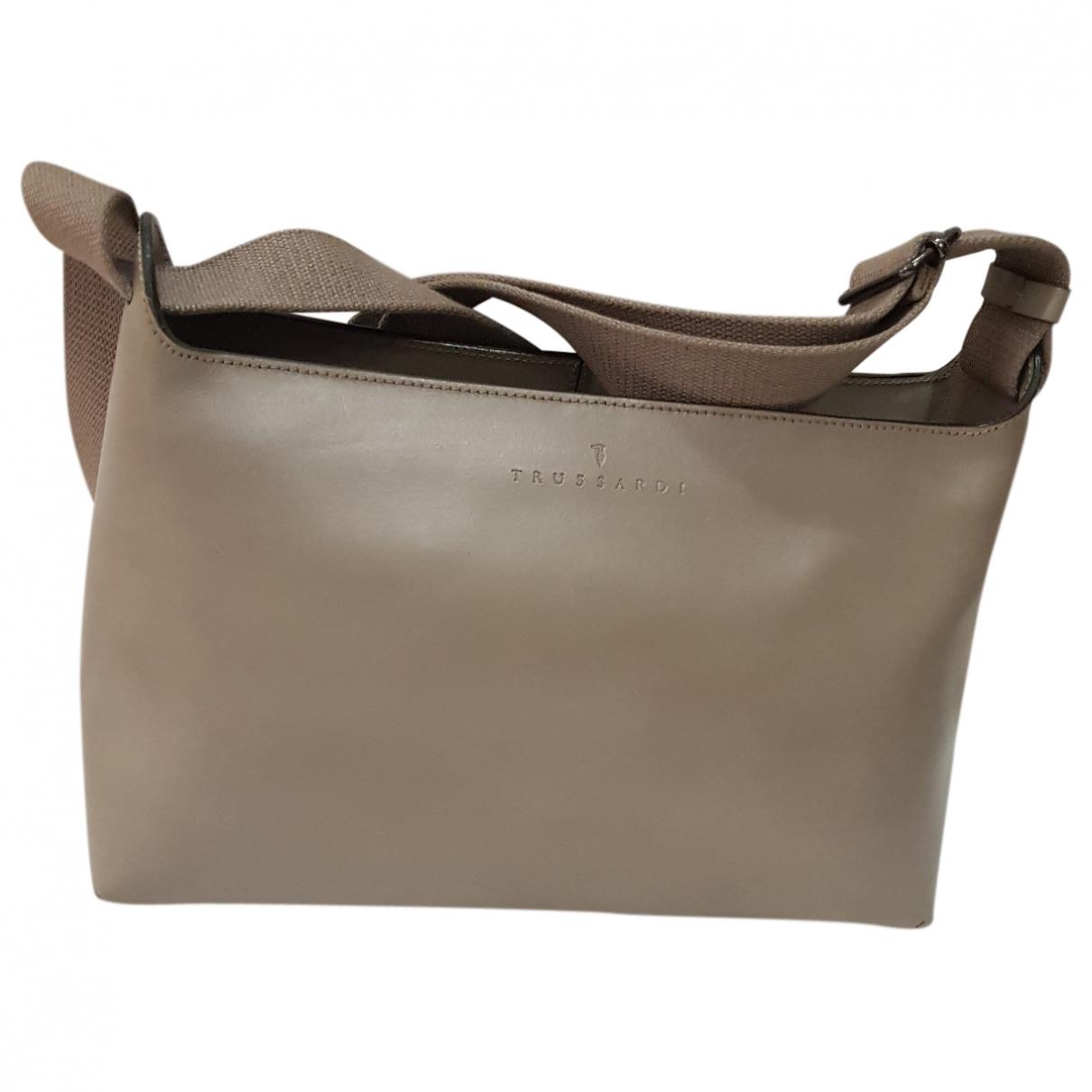 Trussardi \N Leather handbag for Women \N