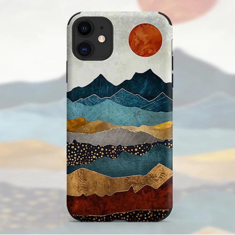 Landscape Print TPU Material Phone Case