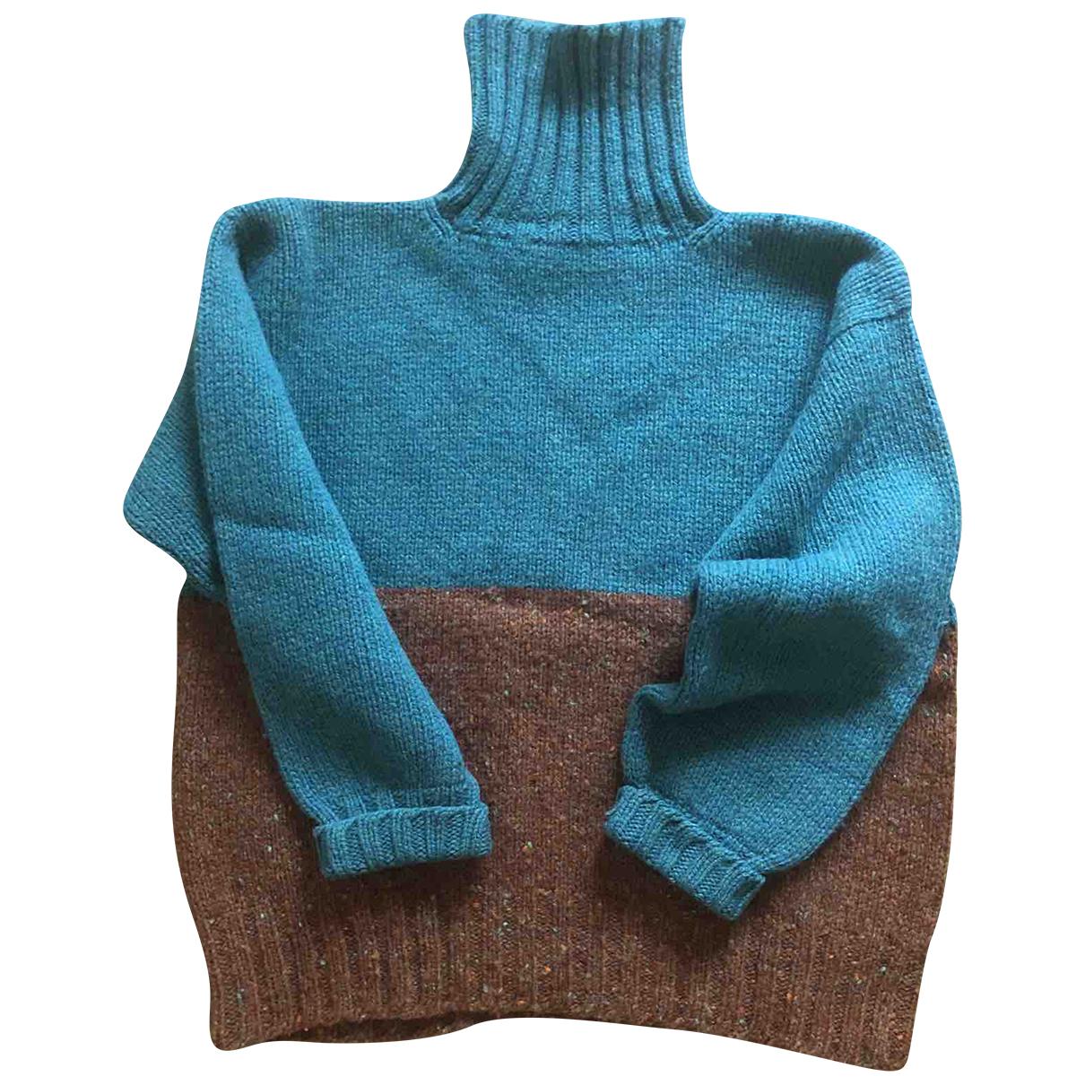 J & M Davidson - Pull   pour femme en laine - vert