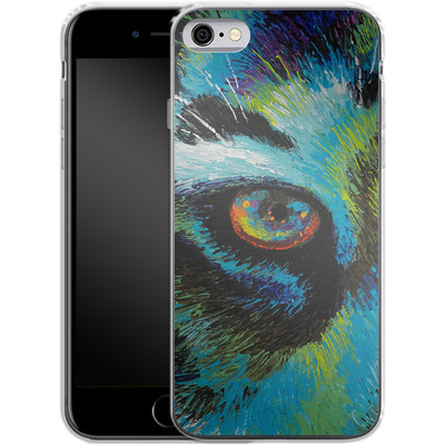 Apple iPhone 6 Silikon Handyhuelle - Will Cormier - Tiger Eyes von TATE and CO