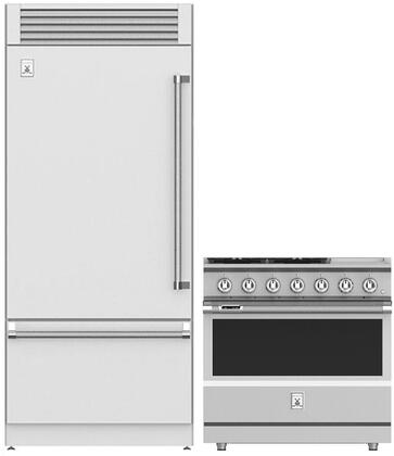 2 Piece Kitchen Appliances Package with KRPL36 36