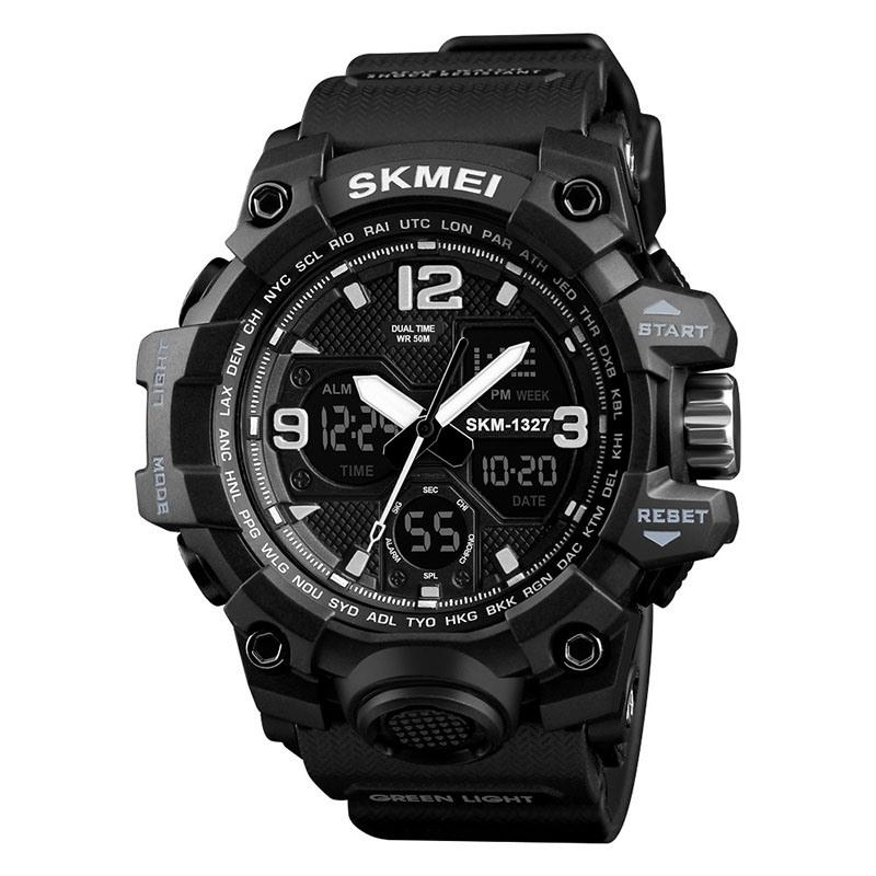 Ericdress Men's Sports Multi-Function Multi-Color Double Movement Men's watch