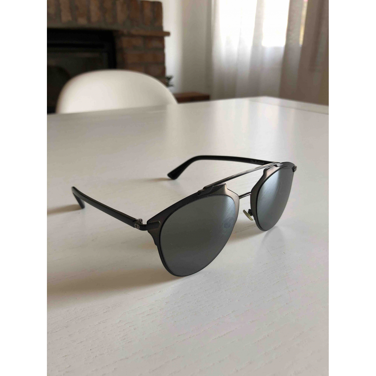 Dior Reflected Sonnenbrillen in  Schwarz Metall