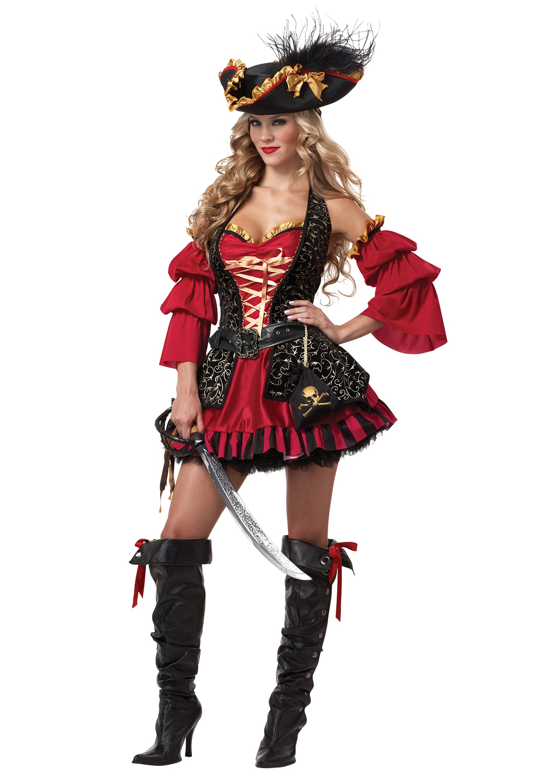 Sexy Spanish Pirate Costume