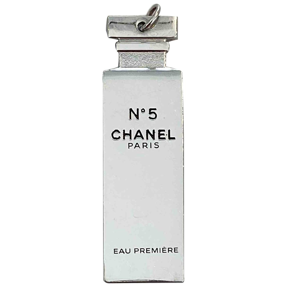 Chanel - Pendentif   pour femme en metal - argente