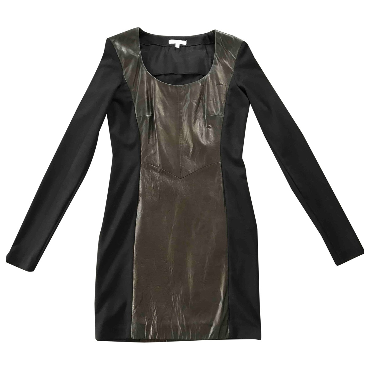 Gianfranco Ferre - Robe   pour femme en cuir - noir