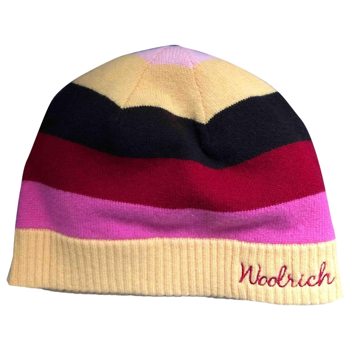 Woolrich - Chapeau   pour femme en cachemire - multicolore