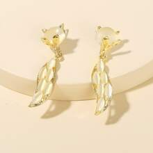 Girls Cartoon Fox Design Earrings